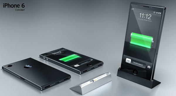 iPhone 6 Concept with Sony Xperia Z Style