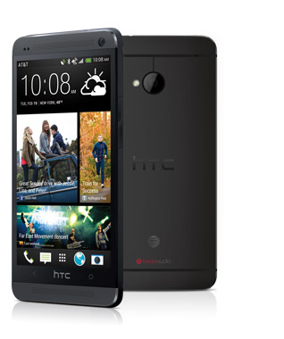 """The HTC One in """"Stealth Black"""""""