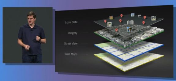 Mapping is delivered in layers, and multiple layers add context to the mapping experience