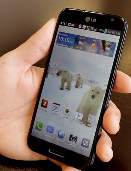The LG Optimus G remains on Android 4.1 in the U.S.