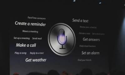 iOS Siri Eyes Free