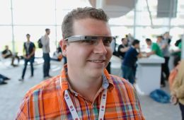 Google Glass features a premium design with a titanium band, bond conduction tech and more.