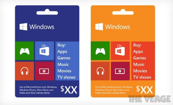 leaked Microsoft Xbox gift cards
