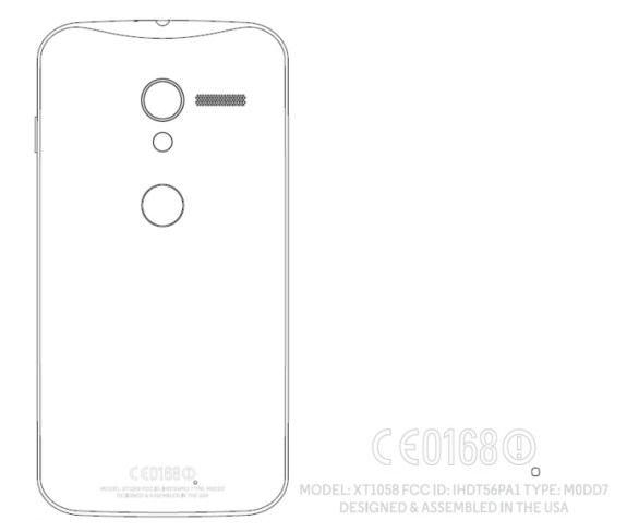 An FCC filing for what may be the Motorola X Phone points to a Made in the USA tag and customization options.