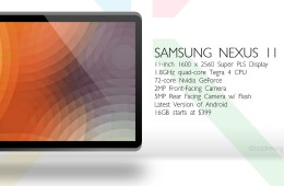 A Nexus 11 concept from Bob Freking.
