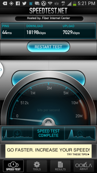 LTE is superior to HSPA+/