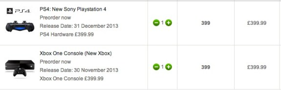 UK users can jump on an Xbox One pre-order though there is no official price or release date yet.