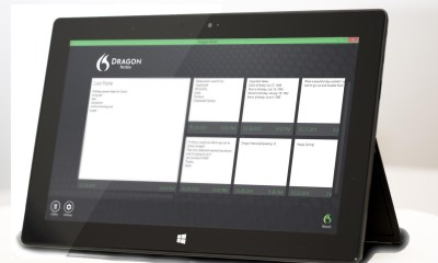 dragon notes on tablet