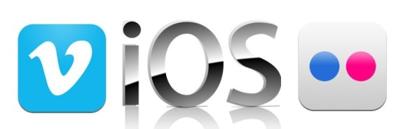 IOS 7 may include Flickr and Vimeo integration.