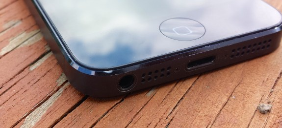 The iPhone 5S is rumored to feature a similar design and a hidden fingerprint reader.