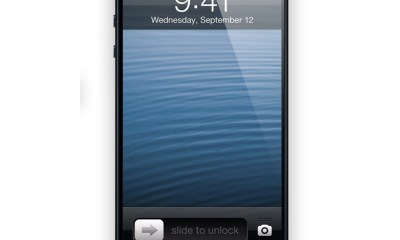 An iPhone 5S device could feature a fingerprint reader that adds to the security of the device.