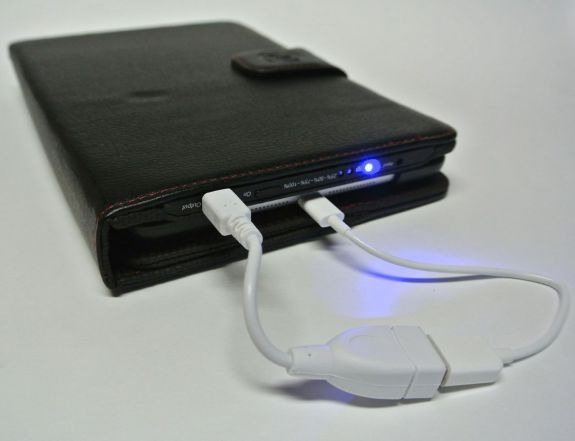 props power case with lightening cable