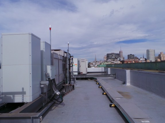 A cell site and its equipment