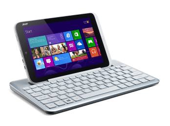 Acer Iconia W3-810_right facing_kb