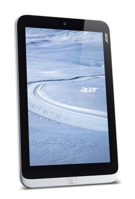 Acer W3 8-inch Windows tablet vertical forward