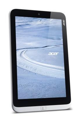 Acer W3 8-inch Windows tablet vertical forward