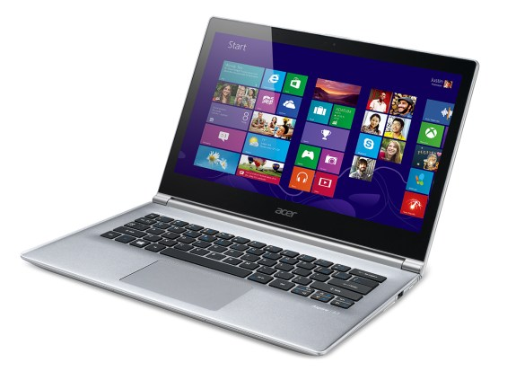 The Acer Aspire S3 ultrabook.