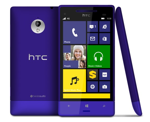 The HTC 8XT