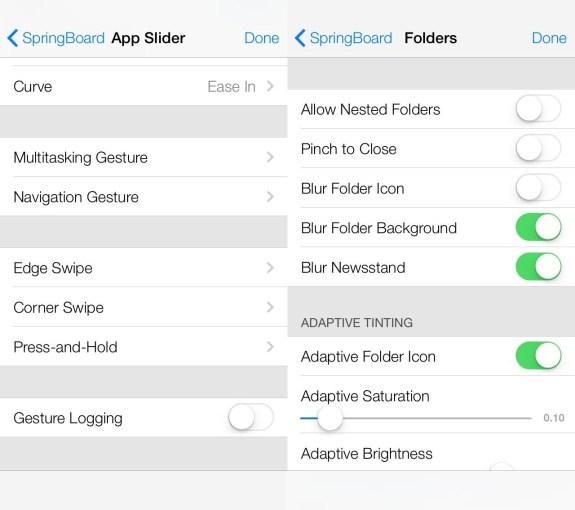 Hidden iOS 7 features include multitasking gestures and nested folders.