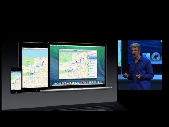 maps on osx mavericks