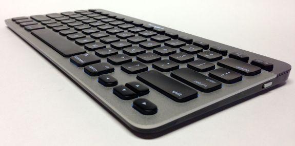logitech bluetooth easy switch keyboard arrow keys