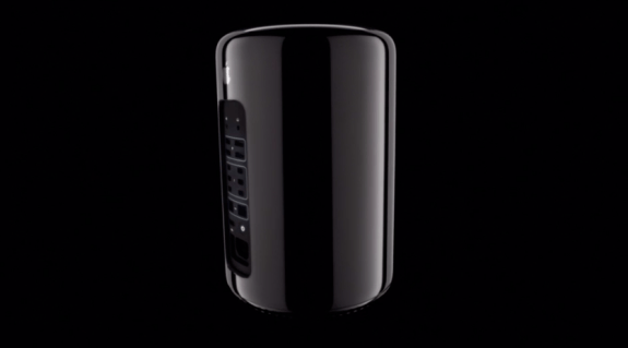 This is Apple's new Mac Pro.
