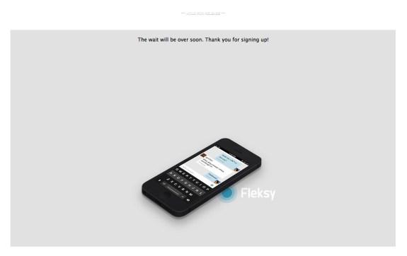 fleksy keyboard for iOS