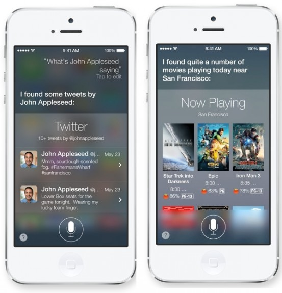 Siri can do much more in iOS 7.