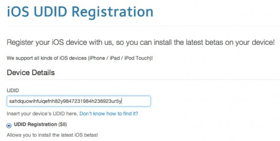 Register for the iPad IOS 7 beta.