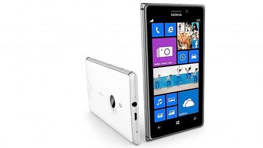 Pictured: Nokia Lumia 925