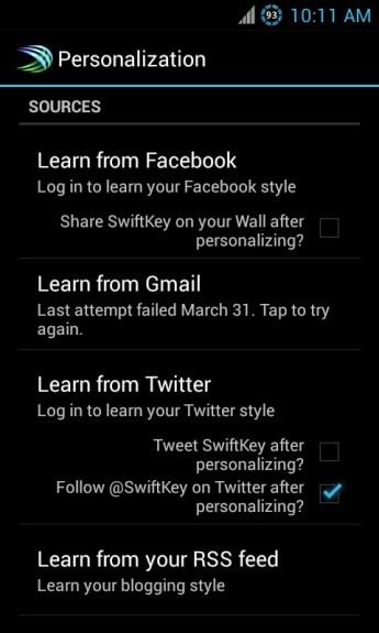 swiftkey-learning