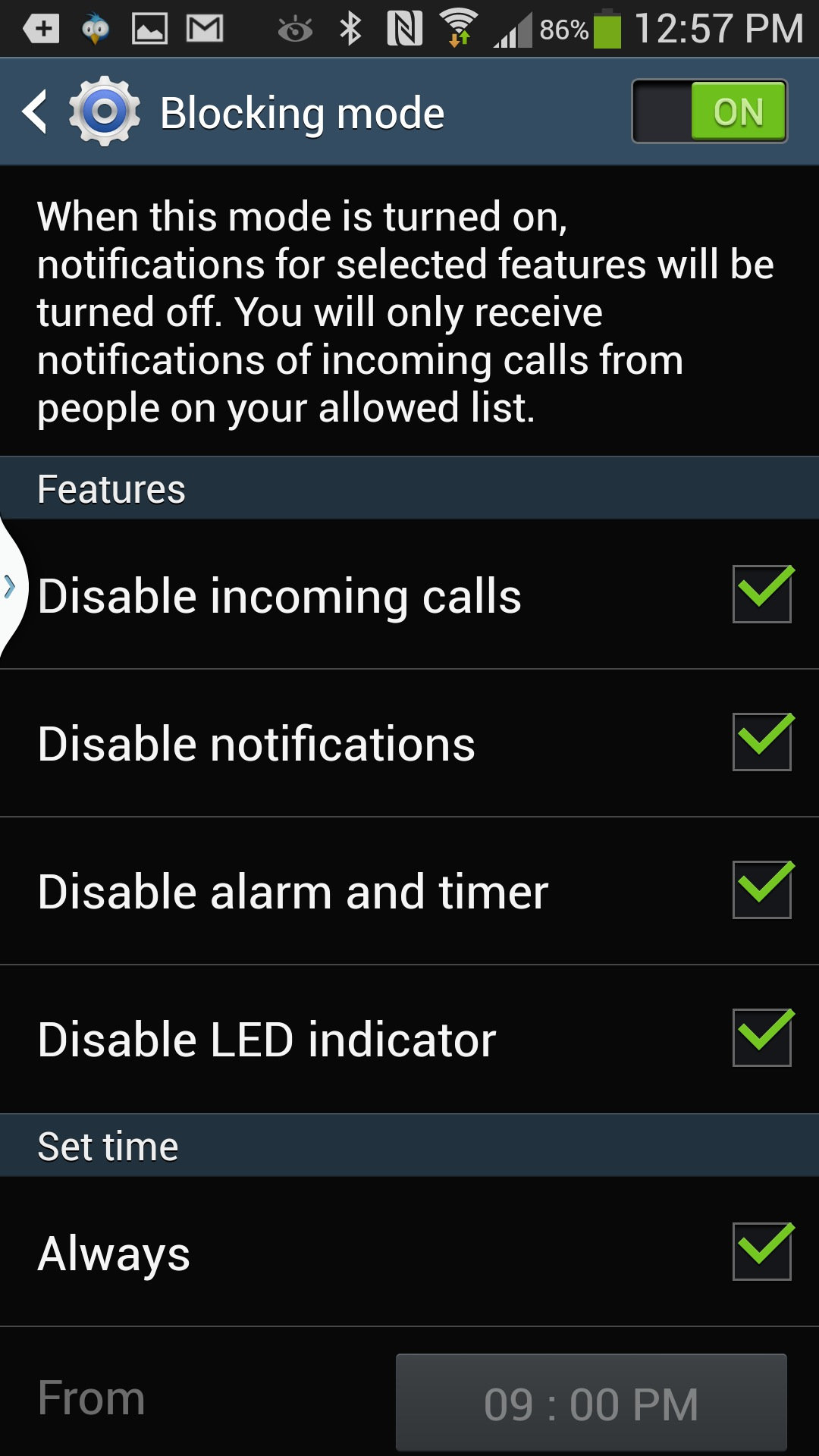 Blocking mobile phone - mobile phone blocking device