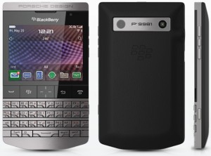 BlackBerry Porsche Design P'9981 based off of the BlackBerry Bold 9900 experience.