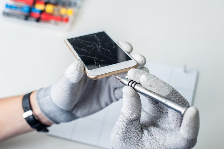 Try a DIY iPhone screen repair or Android repair.