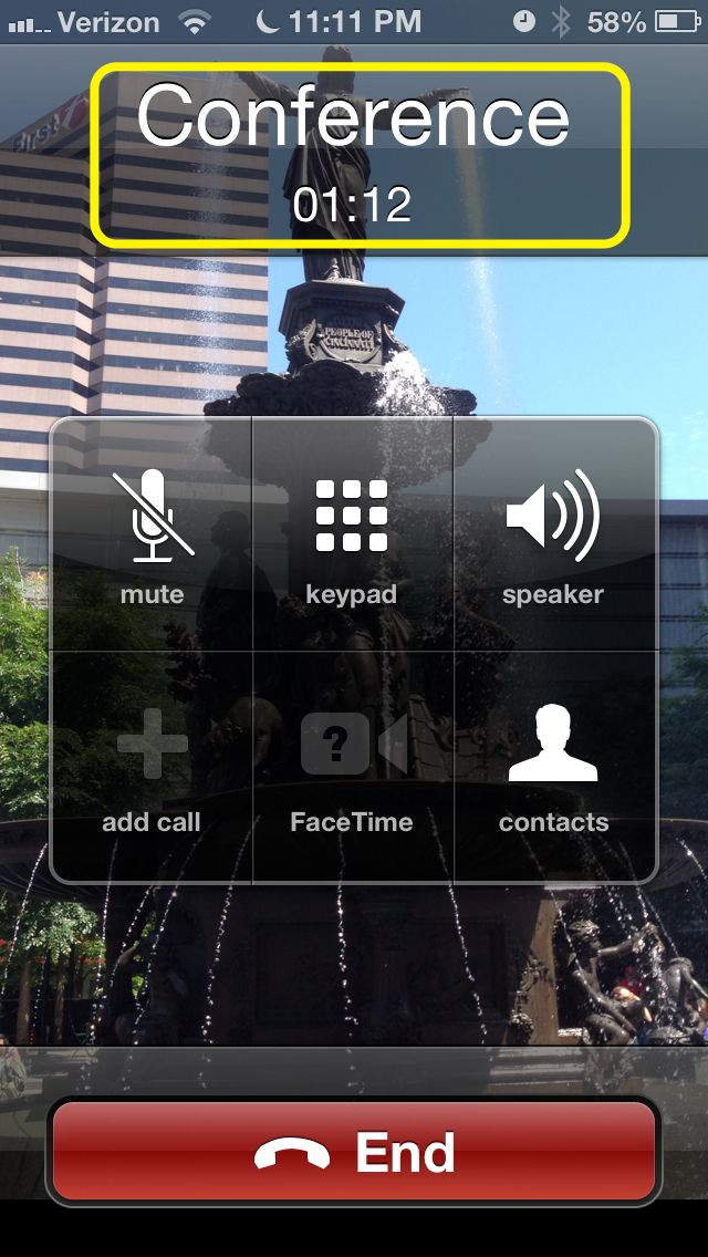 How To Make A 3 Way Call On The Iphone