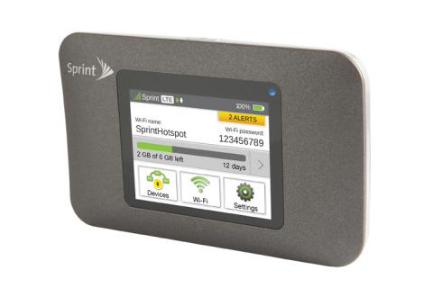 Netgear Zing hotspot for Sprint.