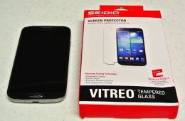 SEIDIO Vitreo Tempered Glass Screen Protector for Samsung Galaxy S4