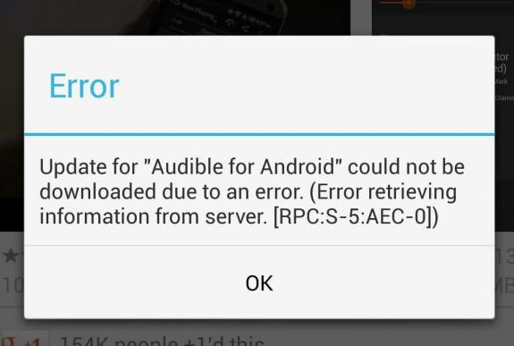 How to Fix Google Play error RPC:S-5:AEC-0. If Google Play apps won't update or install this is a quick fix.
