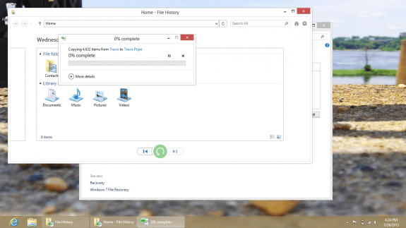 How to Back Up and Restore your Windows 8 PC to a hard drive 11