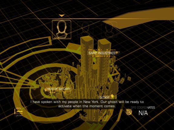 Deus Ex: The Fall opening cut scene