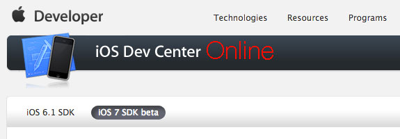 As Apple continues work on the Developer Center we could see an iOS 7 beta 4 release today.