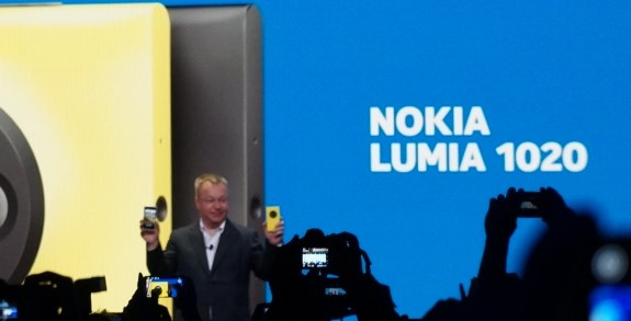 The Nokia Lumia 1020 is here.