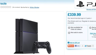 The PS4 release date is not likely delayed until December 13th.