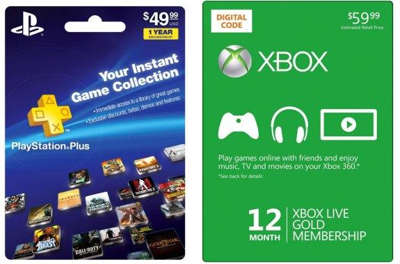PlayStation-Plus-vs Xbox Live