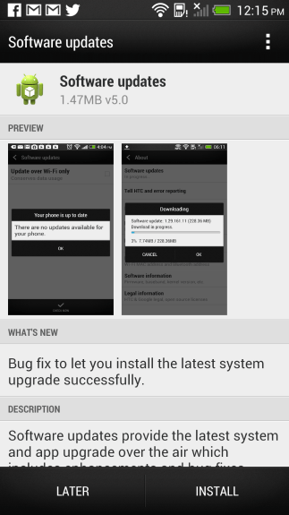 The HTC One Android 4.2 Jelly Bean update has rolled out in the UK.