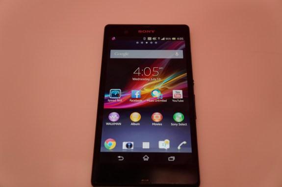 T-Mobile Sony Xperia Z 1