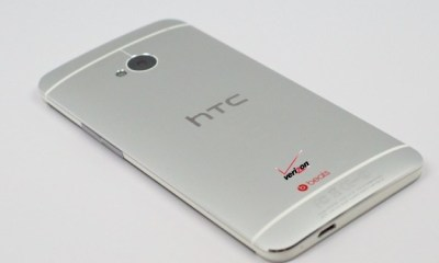 The Verizon HTC One release remains weeks away.