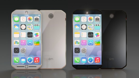 iPhone 6 concepts often include a larger screen, like this one from thinkbym.