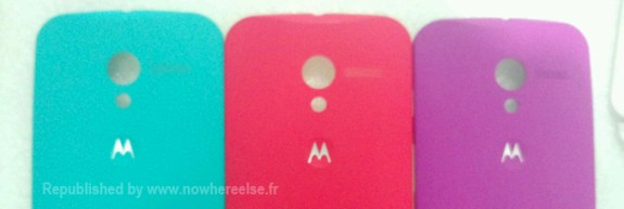 Purported Moto X colors.