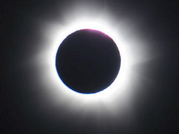 A NASA photo shows a solar eclipse that looks like the Sony teaser image. CC BY 2.0